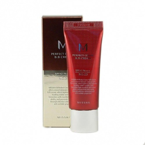Крем MISSHA M Perfect Cover BB Cream SPF42/PA+++, 20 мл.
